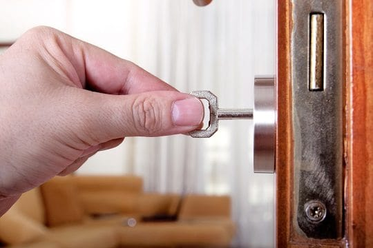 door lock repair break-in